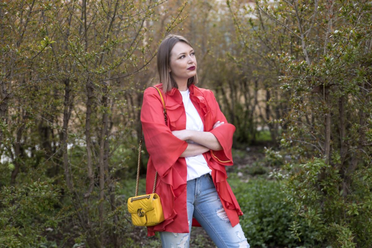 Trend 2017: giacca con volant