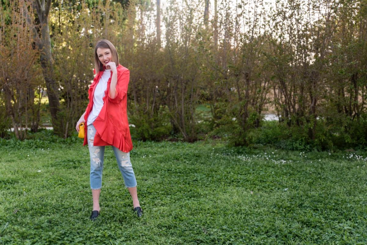 Trend 2017:giacca con volant