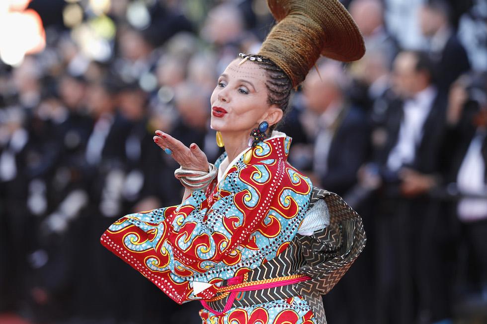 Victoria Abril alla prima di Ismael's Ghosts - 17 maggio 2017 (Andreas Rentz/Getty Images)