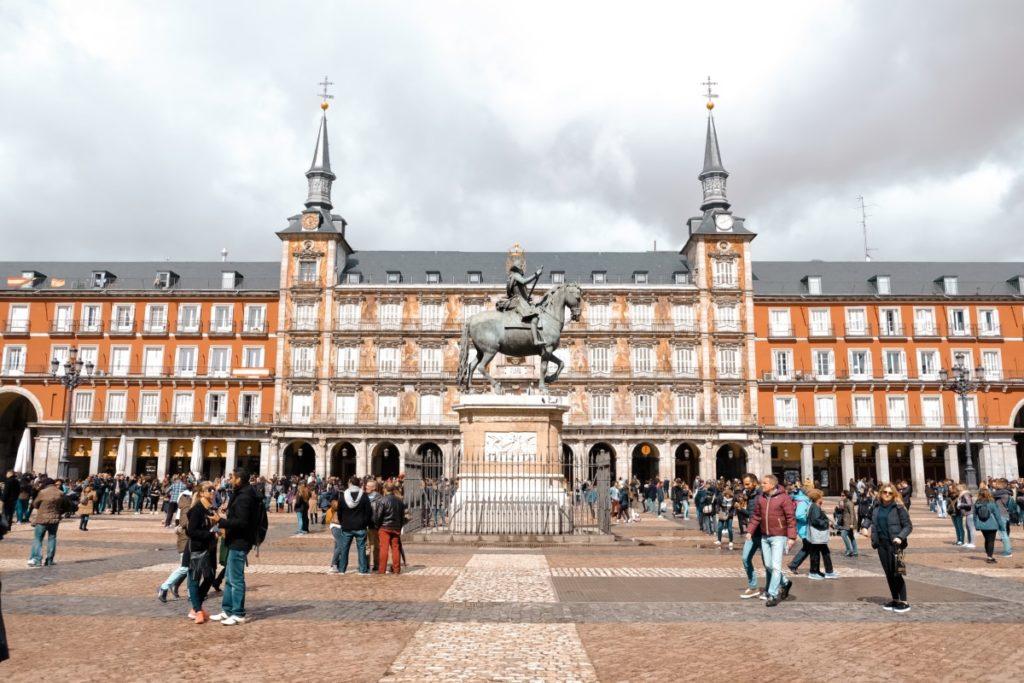 Cosa vedere a Madrid in 3 giorni: Plaza Mayor
