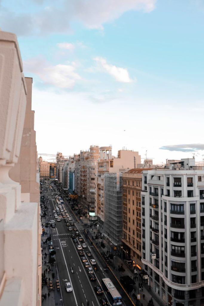 cosa vedere a Madrid: Gran Via