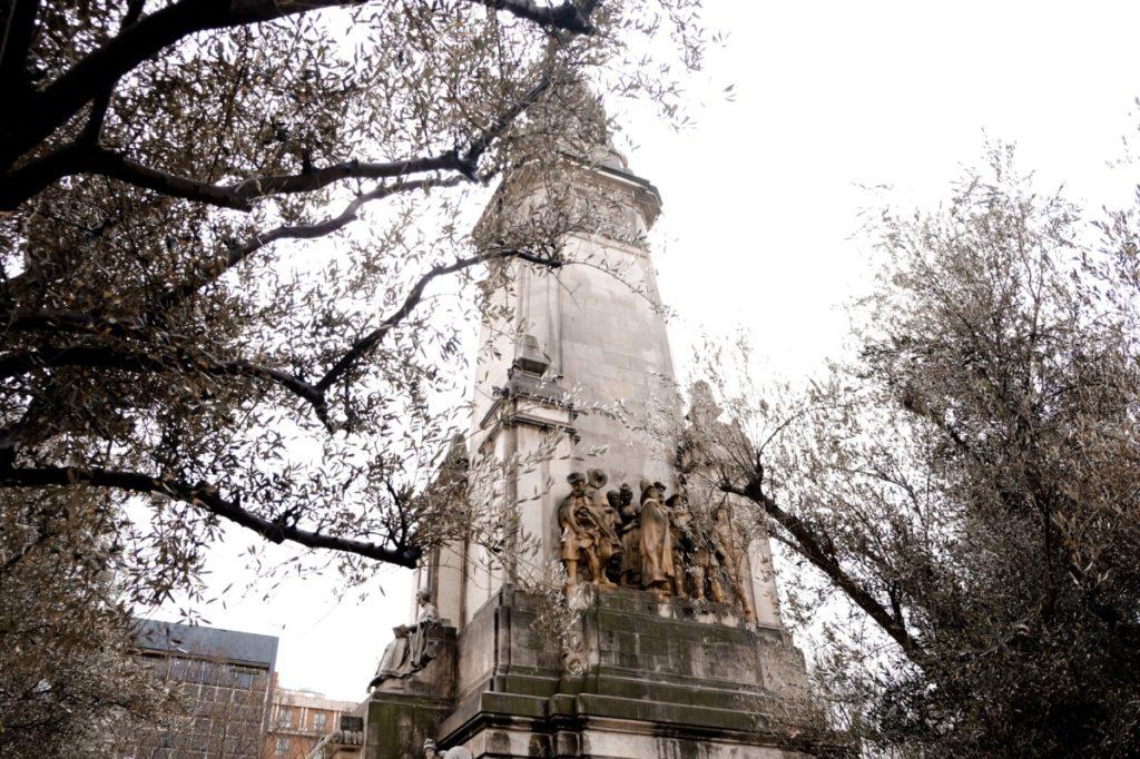 cosa vedere a Madrid in 3 giorni: Plaza de Espana 1