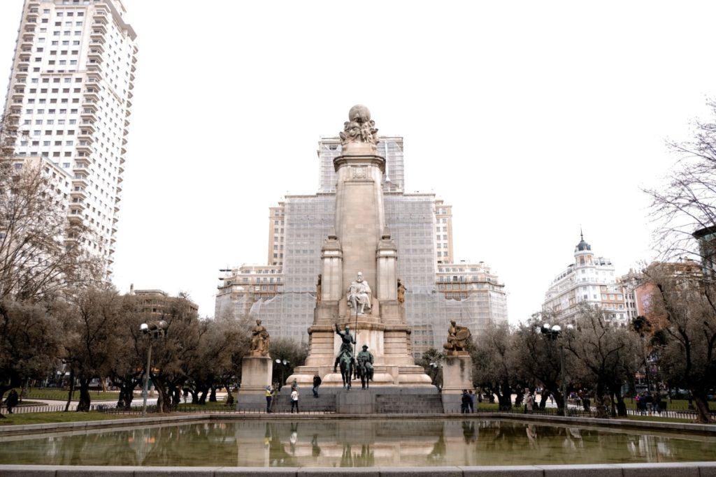 cosa vedere a Madrid in 3 giorni: Plaza de Espana