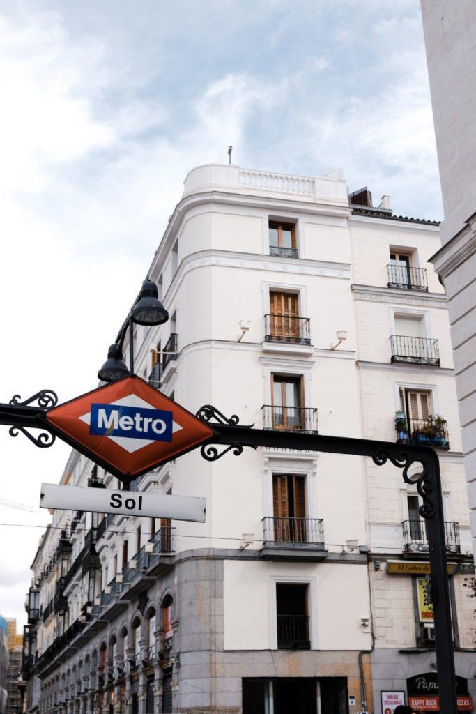 cosa vedere a Madrid in 3 giorni metro