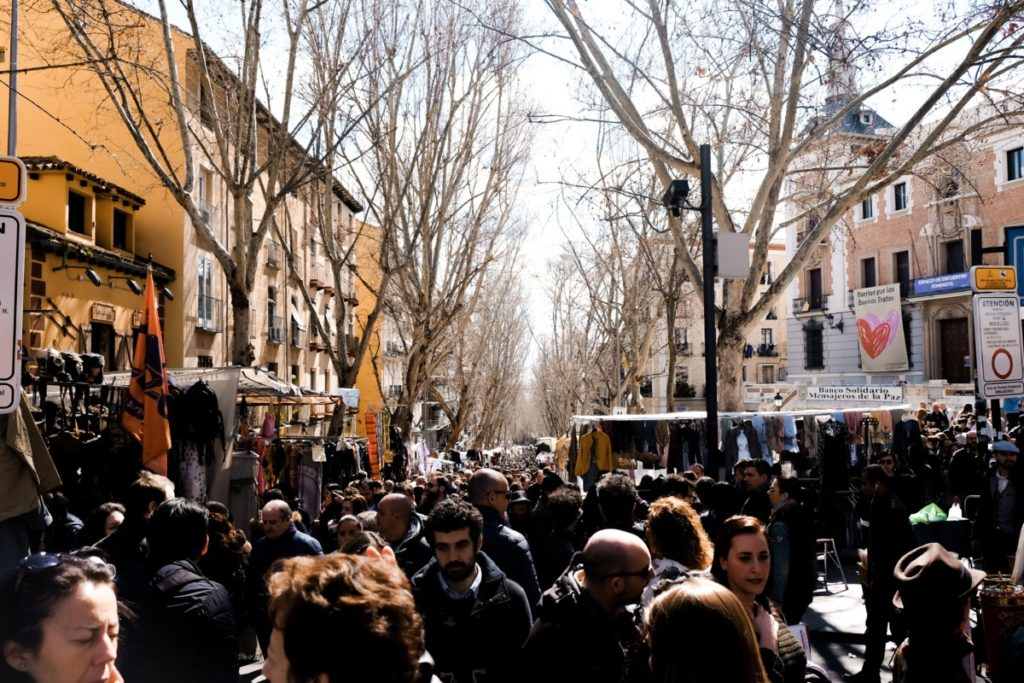 cosa vedere a Madrid El Rastro