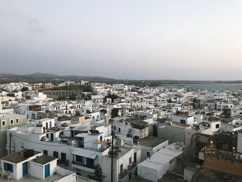 locali notturni sull'isola di Naxos