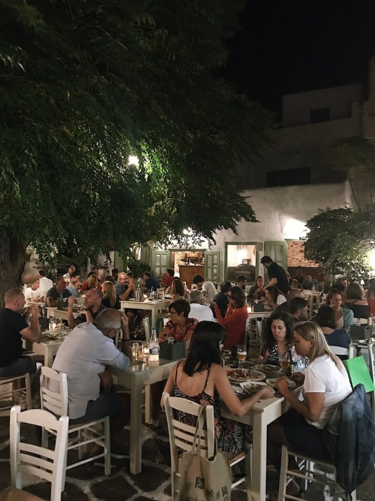 Isola di Naxos vita notturna