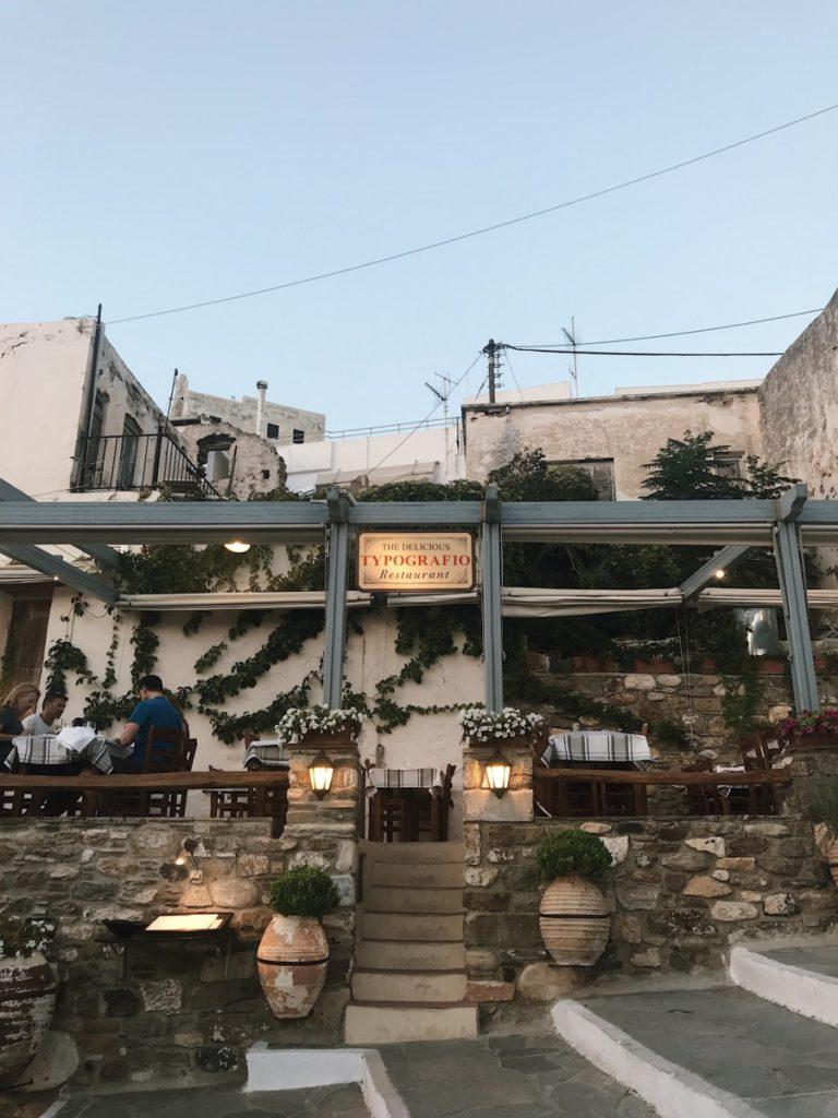 Naxos e locali
