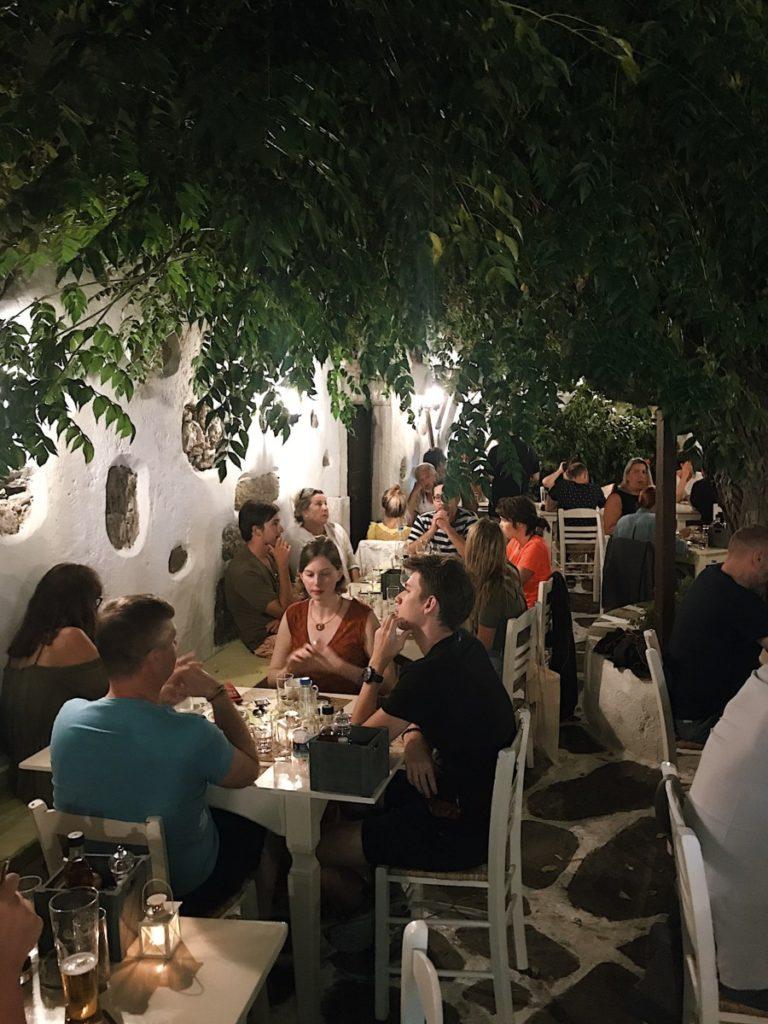 Isola di Naxos locali