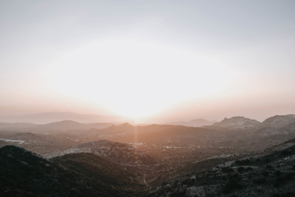 Isola di Naxos tempio