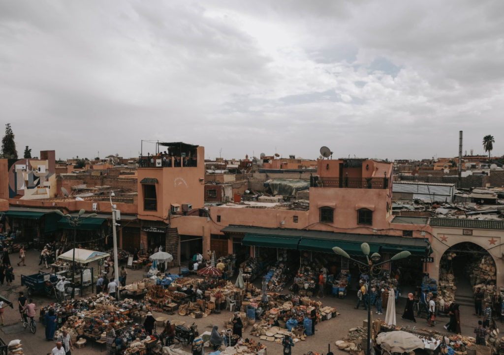 Weekend a Marrakech panoramica
