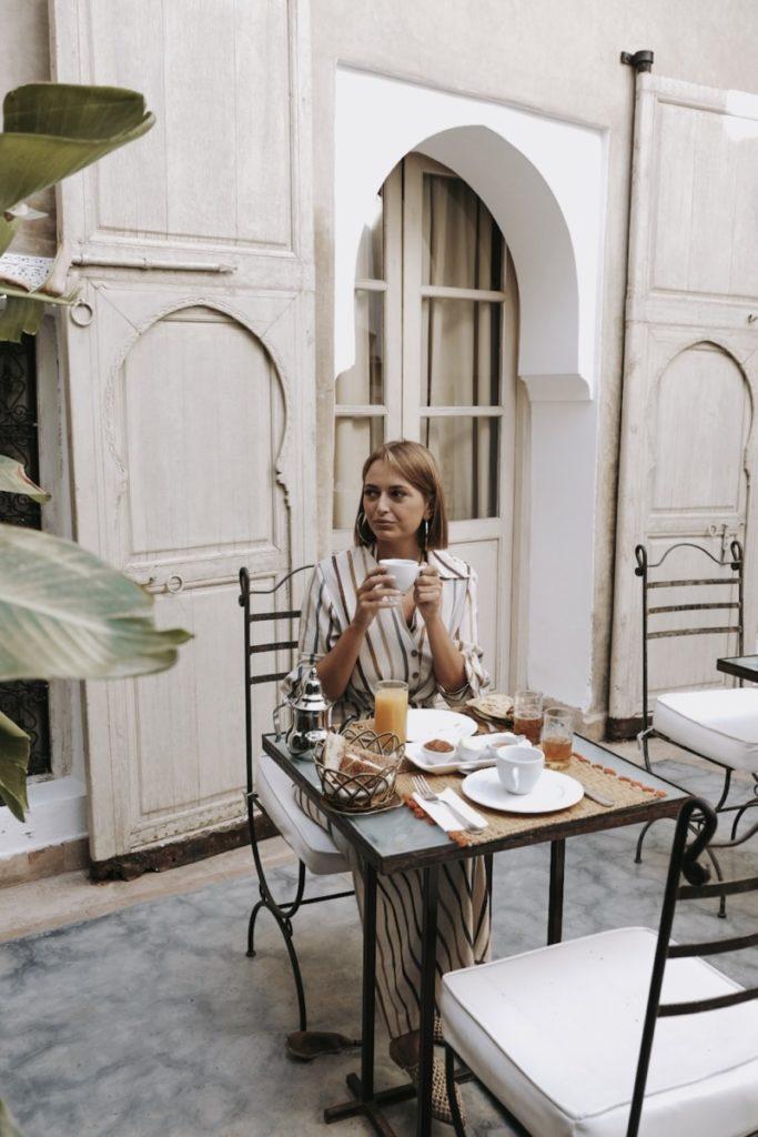 Weekend a Marrakech: colazione