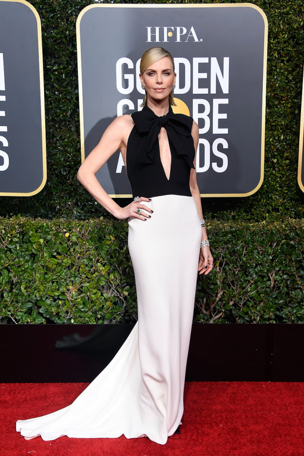 golden globes 2019 charlize theron